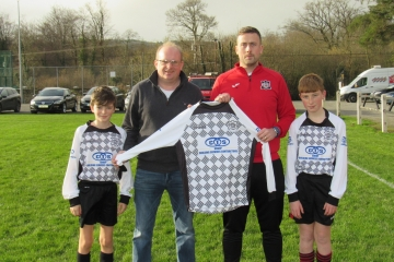 CTS Group Sponsoring Portlaw United Jerseys