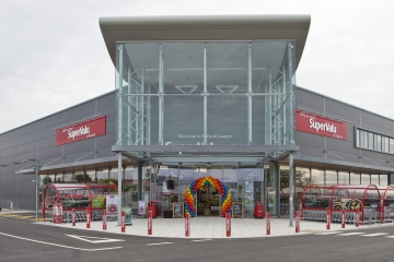 Completed Development of Supervalu Kilcock