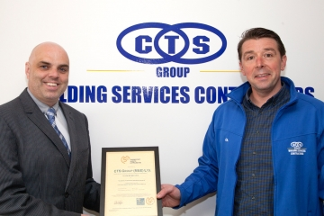 CTS Group Awarded ISO 9001:2015 Certification