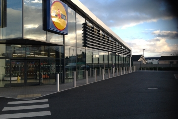Completed Development Of New Lidl Store