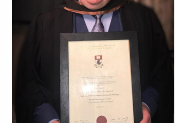 Congratulations To Karl Who Recently Graduated College