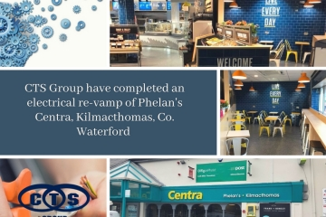CTS Group were delighted to be a part of Phelan's Centra, Kilmacthomas recent revamp.