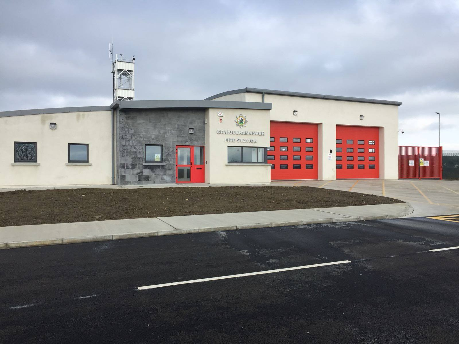 Graiguenamanagh Fire Station Complete