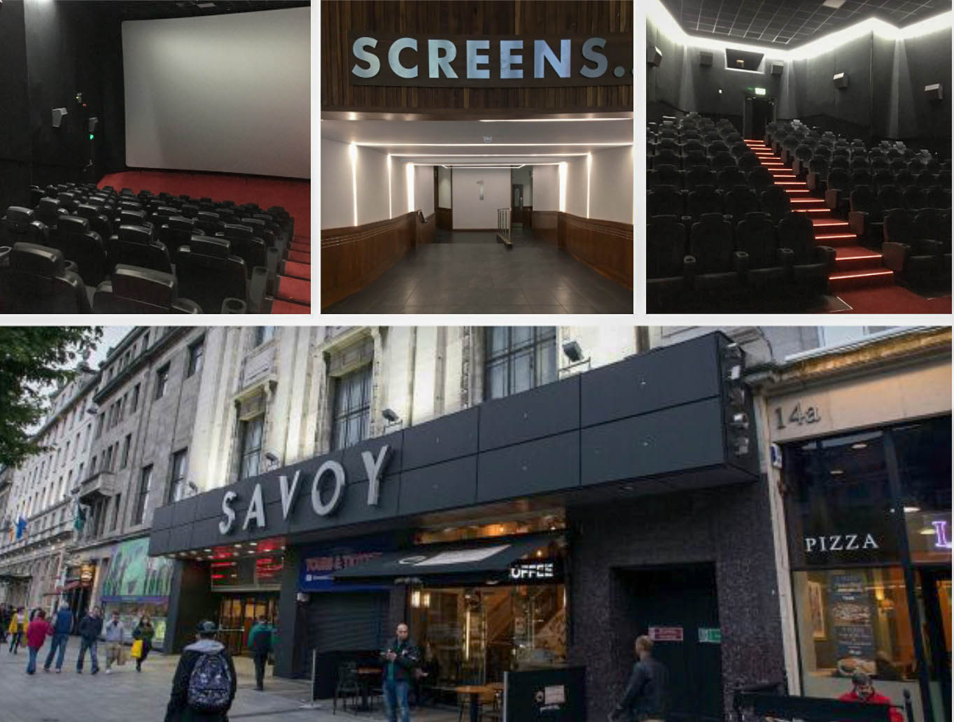 Completed Works on Savoy Cinema