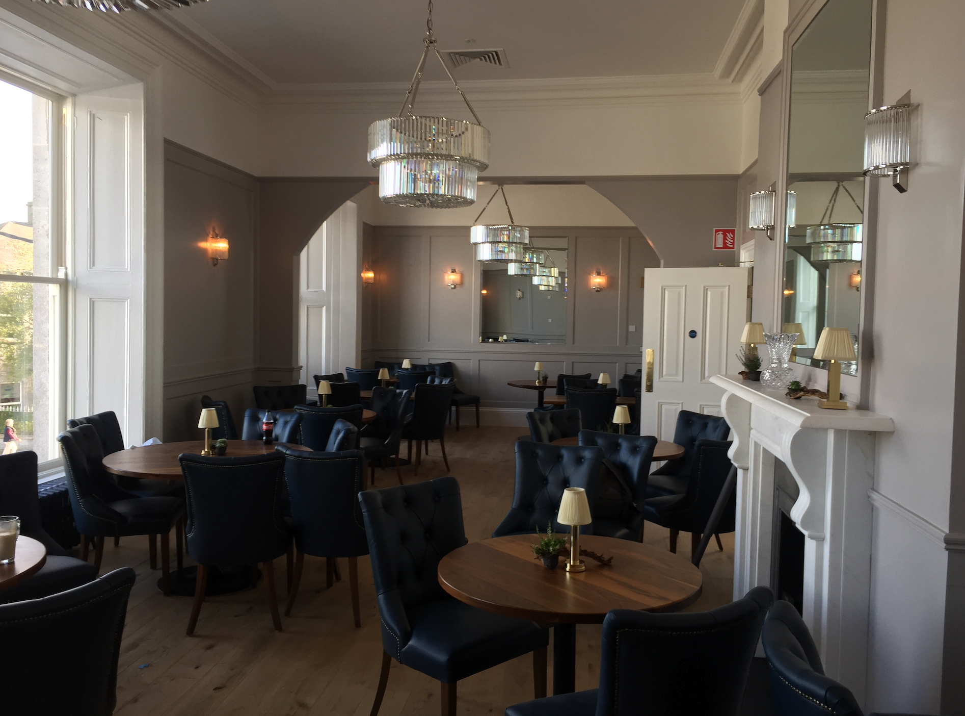 The Old Bank Restaurant Full Electrical Completed
