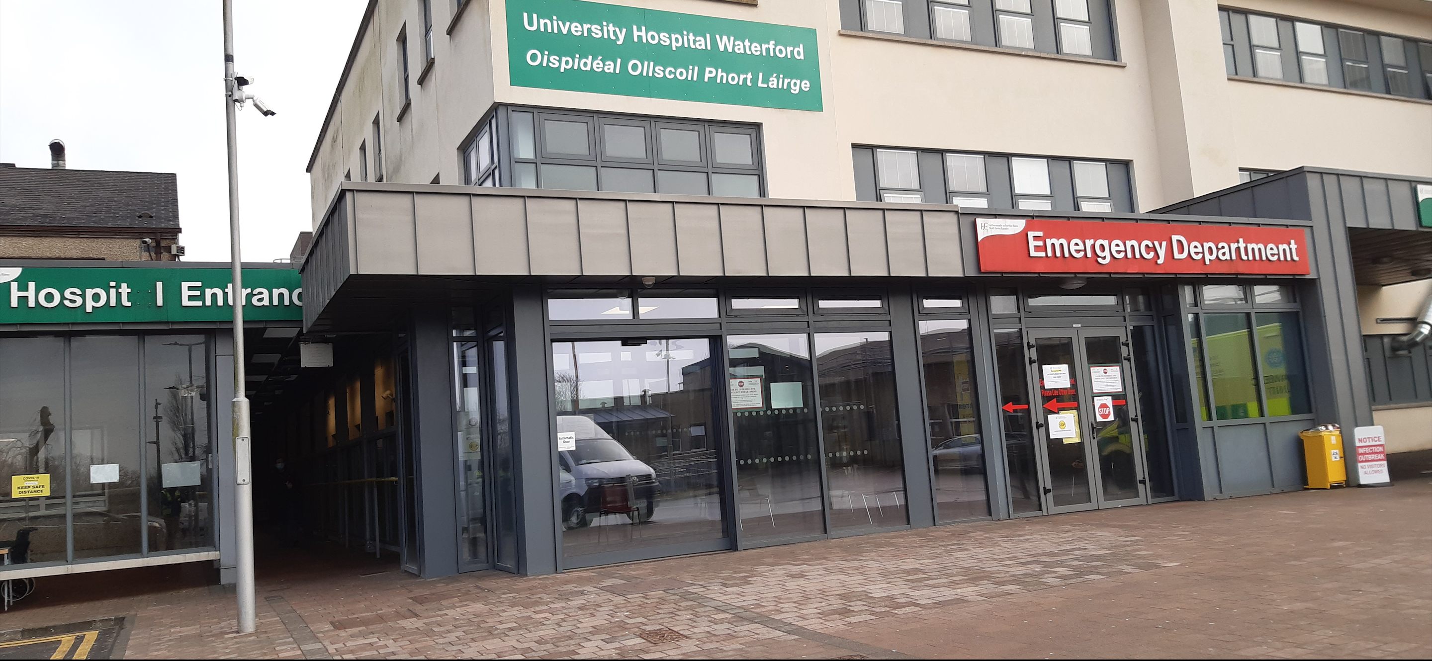 Electrical Contract Competed For A&E Entrance UHW